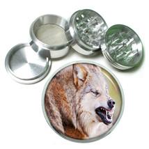 Wolf Aluminum Grinder D7 63mm 4 Piece Wilderness Animal Dog Hunter Predator - $7.88