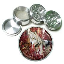 Wolf Aluminum Grinder D5 63mm 4 Piece Wilderness Animal Dog Hunter Predator - $7.88
