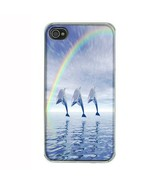 iPhone 4 4S Hard Case Back Cover Dolphins Design 01 Cetacean Mammal Mari... - $8.86