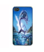 iPhone 4 4S Hard Case Back Cover Dolphins Design 06 Cetacean Mammal Mari... - $8.86