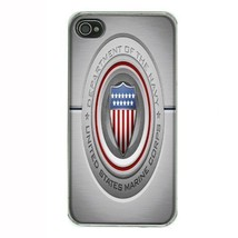 iPhone 4 4S Hard Case Navy D 09 United States Marine Corps Seals Special... - $8.86