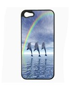 iPhone 5 5s Hard Case Back Cover Dolphins Design 01 Cetacean Mammal Mari... - $8.86