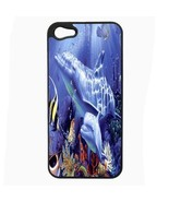 iPhone 5 5s Hard Case Back Cover Dolphins Design 08 Cetacean Mammal Mari... - $8.86