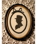 ANTIQUE SILHOUETTE FRAMED GENTLEMAN PORTRAIT - $235.00