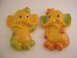 BABY ELEPHANT CHALKWARE SET - Miller Studio Inc., 1956 - $24.95