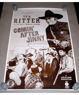 CAPITOL RECORDS TEX RITTER POSTER 17 X 26 - RARE! Dick Curless Estate - $124.75