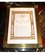 ANTIQUE FRAMED CATHOLIC LATIN MASS ALTAR CARD ST. JOHN PASSION - $44.75