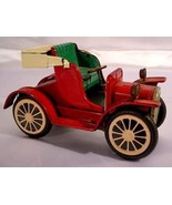 VINTAGE TIN FRICTION EARLY MODEL RED AUTOMOBILE - $40.00