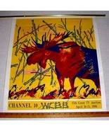 WCBB 15th GREAT TV AUCTION 1986 SIGNED MAINE PRINT - $75.00