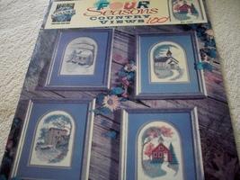 Four Seasons Country Views Cross Stitch Chart - $2.50