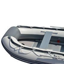 BRIS 9.8 ft Inflatable Boat Dinghy 4 Person Pontoon Boat Tender Fishing Raft image 7