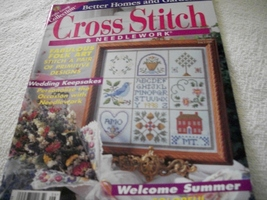 Cross Stitch & Needlework June 1998 - $3.50