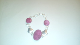 Genuine Ruby Natural Gemstone Bracelet - $19.99