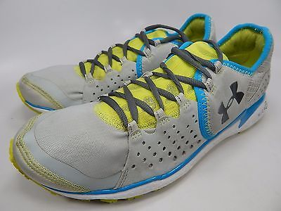 UNDER ARMOUR MICRO G MANTIS WOMEN'S RUNNING SHOES SZ US 10.5 M (B) EU 42.5 GRAY