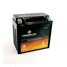 YTX14-BS Snowmobile Battery for Yamaha 998cc Apex 2008 - $48.90