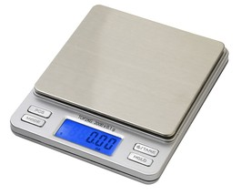 Smart Weigh Digital Pro Pocket Scale with Back-Lit LCD Display, Silver - $49.95