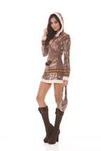 Sexy Elegant Moments Arctic Princess Eskimo Christmas Costume S M L XL 9802 - $46.99