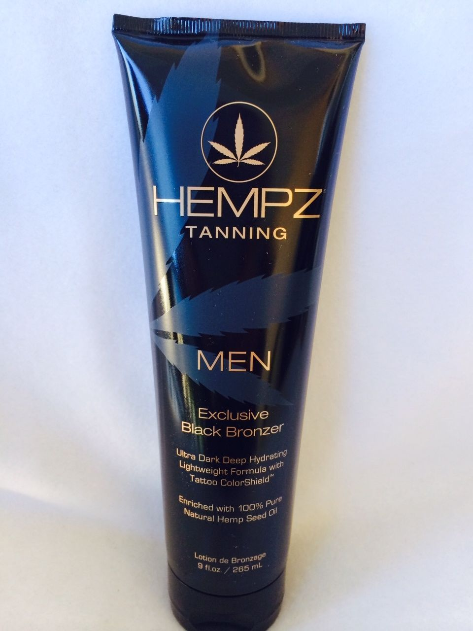 Hempz men exclusive black bronzer tattoo colorshield for Tanning beds and tattoos