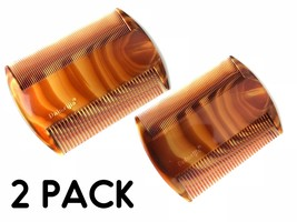 2 HEAD LICE Treatment Comb Kids Nit Hair Flea Egg Removal 2 Sided Fine W... - $7.57