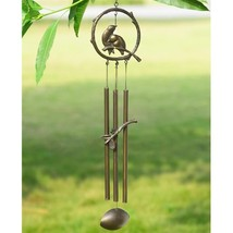 Iron Lovebird Wind chime Garden Decor Bird Tube,27.5''H. - $44.55