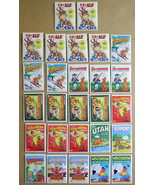27 US of Alf 1987 Sticker State Trading Cards w/duplicates - $6.99