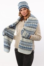 Soft and Warm Hat Scarf And Mittens Set made from soft Icelandic Wool - $2.818,73 MXN