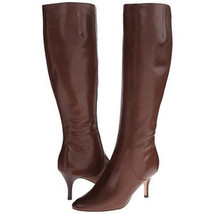 COLE HAAN 'CARYLE' WOMEN'S FASHION DRESS BOOTS CHESTNUT LEATHER D42184 S... - $179.99
