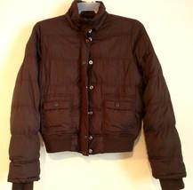 AEROPOSTALE - Chocolate Brown Puffer Coat - Junior's Size: XL - $37.57