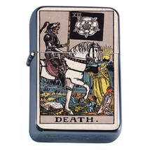 Tarot Card D14 Windproof Dual Flame Torch Lighter XIII Death - $12.82