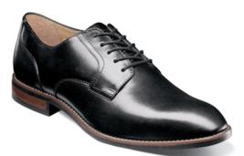 Nunn Bush Fifth Ave Flex Plain Toe Oxford Shoes Black 84805-001 - $72.91