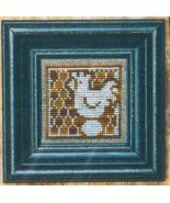Golden Spring Chicken + White cross stitch chart Bent Creek  - $6.75