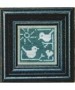 Summer Bluebirds + White cross stitch chart Bent Creek  - $6.75