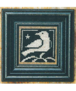 Autumn Blackbird + White cross stitch chart Bent Creek  - $6.75