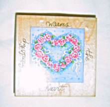 Friendship Warm the Heart #50039 © Stamps Happen Rubber Stamp  - $5.99