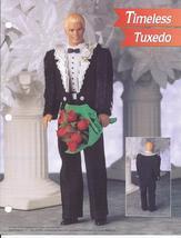Timeless Tuxedo Fashion Doll Plastic Canvas Pattern~Annie's~1996 - $8.99
