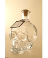 Pottery Barn skull decanter glass Halloween skeleton - $52.98