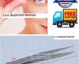 10 set Make Up LED Light Eyelash Eyebrow Hair Removal Tweezer + Pointed Tweezer