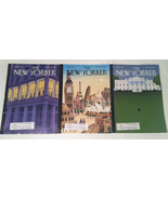 The New Yorker magazines back issues lot of 3 April 13, 20, 27 2009 - $3.00