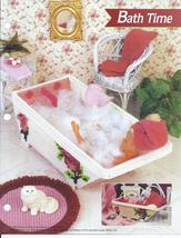 Bath Time Fashion Doll Plastic Canvas Pattern~Annie's - $5.99