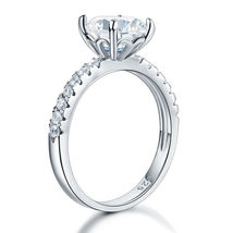 925 Sterling Silver Bridal Engagement Ring 2 Carat Created Diamond Jewelry - $99.99