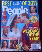 PEOPLE MAGAZINE BEST OF 2011 - DECEMBER 26, 2011 - ROYAL WEDDING - EXC. ... - $7.66