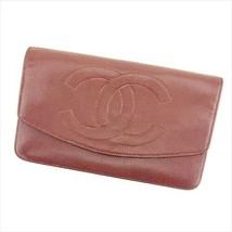 2c559fa880db5e Vintage Chanel wallet caviar skin ?~ Women Men Auth T8974 - $274.84