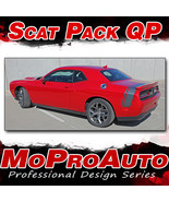 2015 Challenger SCAT PACK Quarter Panel Trunk 3M Vinyl Graphic Stripes D... - $108.74