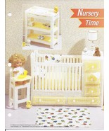 Nursery Time Fashion Doll Plastic Canvas Pattern~Annie's~1996 - $9.99