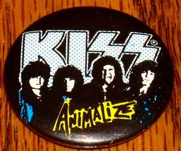 KISS BUTTON ANIMALIZE      ROCK & ROLL! - $24.74