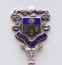 Collector Souvenir Spoon Great Britain UK England Sheffield Coat of Arms Emblem - $14.99