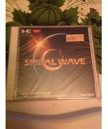 PC Engine HuCARD Spiral Wave Japan NIB - $9.90