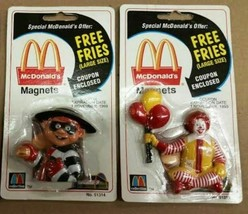 McDonald's Restaurant Vintage Magnets, Your Choice of 3 Different Magnet... - $12.45