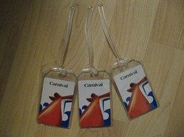Carnival Luggage Tags - Cruise Lines Repurposed Playing Cards Name Tag S... - $19.79