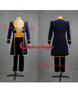 Mens Royal Prince Charming Beauty and The Beast Adult Cosplay Costume - $76.00